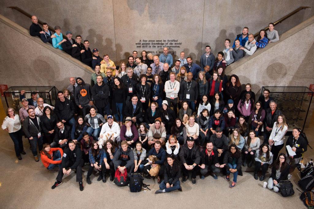 2016 Fall Workshop participants group shot