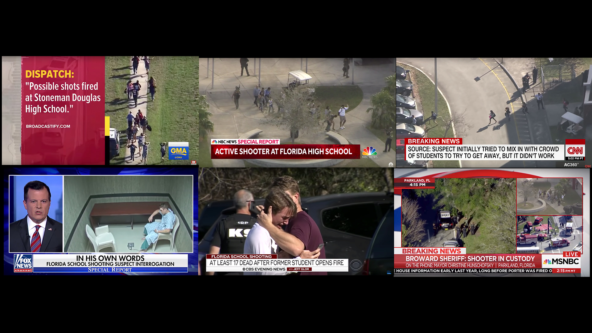 CNN broadcast shots